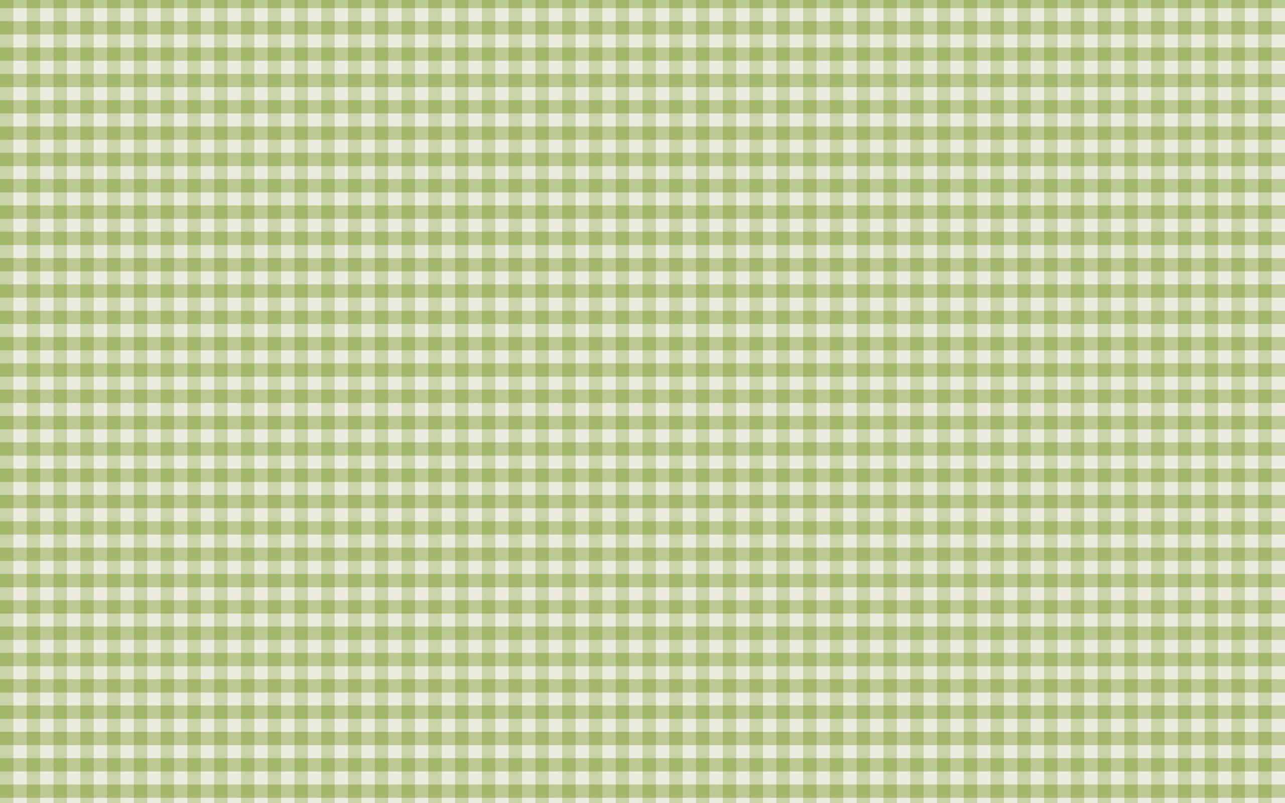 Green Plaid Wallpaper