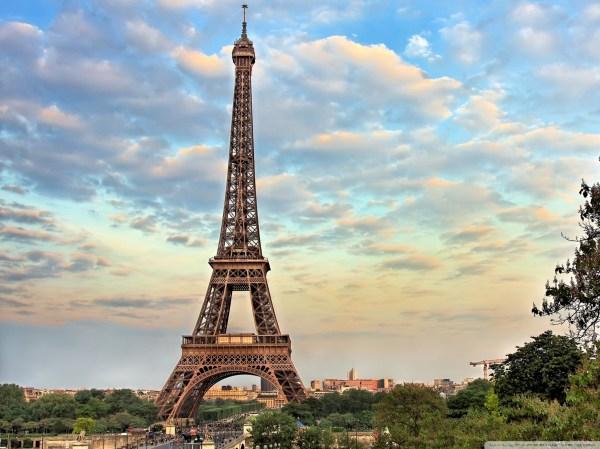 Eiffel Tower Paris France Wallpaper for Desktop
