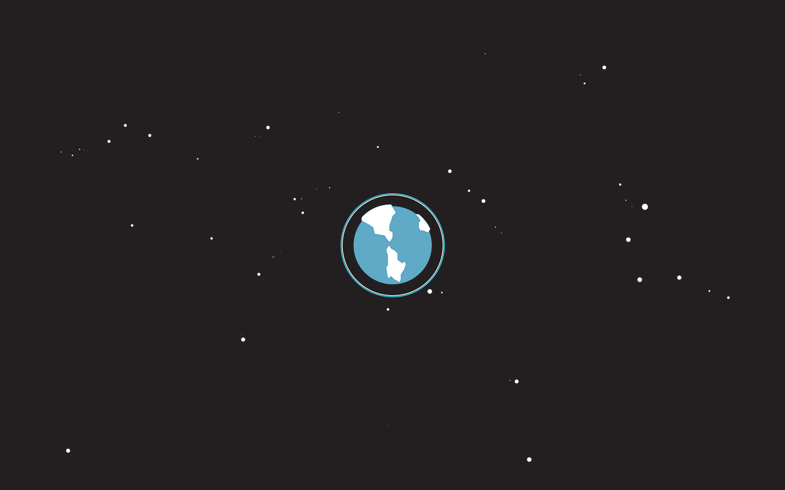 Simple Space Wallpaper  2560x1600 #34607