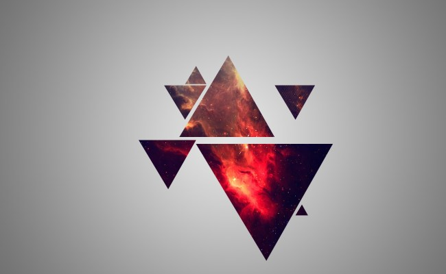 Red Galaxy Triangles 2560 X 1440 Wallpapers