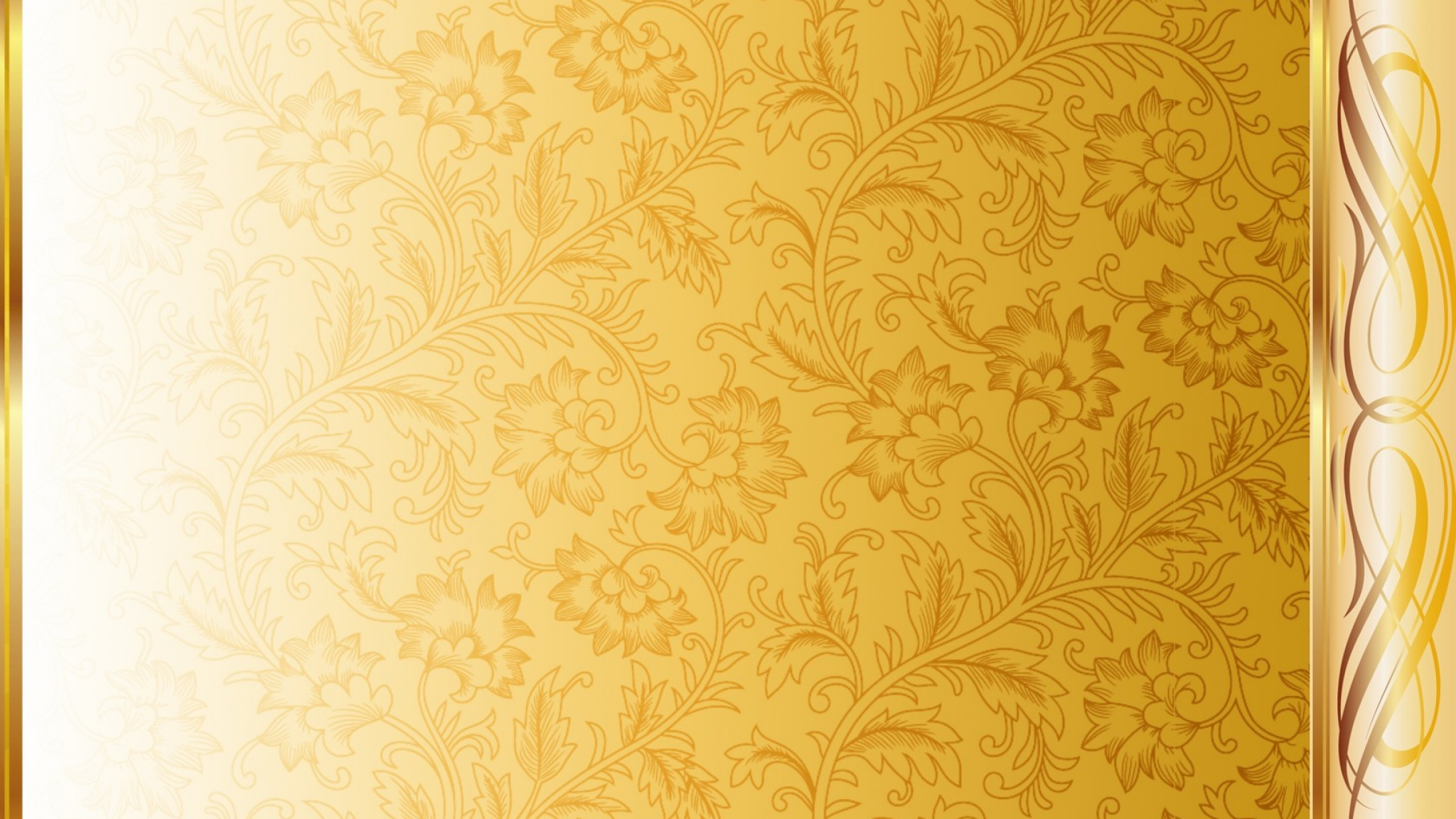 White and Gold wallpaper  2048x1152  82354