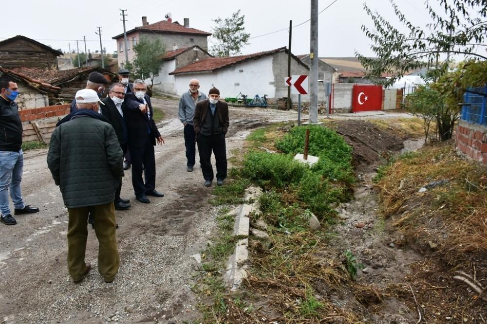 Başkan Bozkurt sorunları yerinde inceledi, talimatlarını verdi