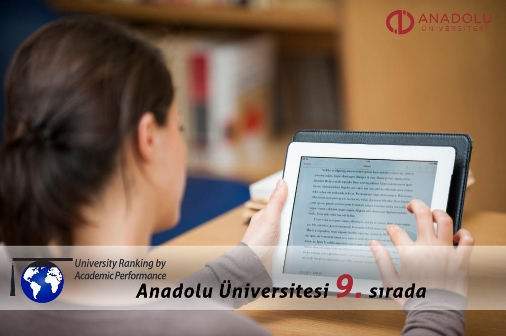 Anadolu Üniversitesinden büyük başarı