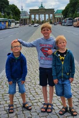 BERLIJN - Duitsland - Brandenburgerpoort