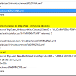 SCCM Configmgr 2012 Hardware Inventory Error class name not found in the mapping table mp_hinv.log