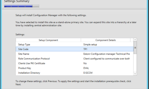 How to Install SCCM Configmgr Technical Preview