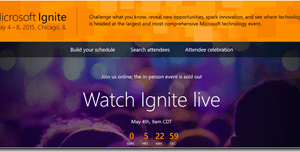 List of Configuration Manager 2012 sessions from Microsoft Ignite 2015