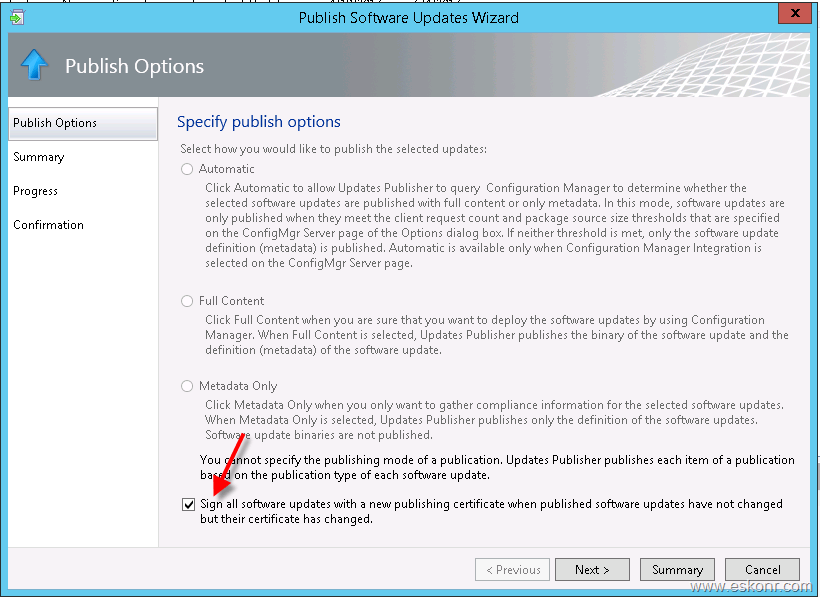 SCCM Configmgr Failed to initiate install of WSUS updates