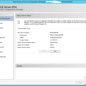 SCCM Configmgr Unable to run SSRS reports due to HTTP 500 Internal Server Error