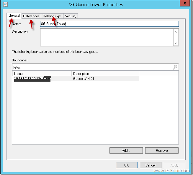 SCCM Configmgr Report for Boundary group relationships with Fallback
