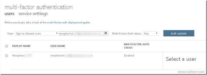 Why is additional security verification option mfa not available after enabling the user mfa in mfa portal user can see the additional security verification option through httpsportaloffice publicscrutiny Images