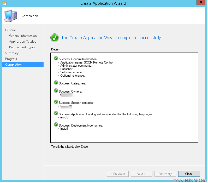 How to deploy SCCM Remote Control Bits (standalone) to