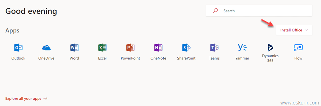 How to control Office proplus channel and which office apps are