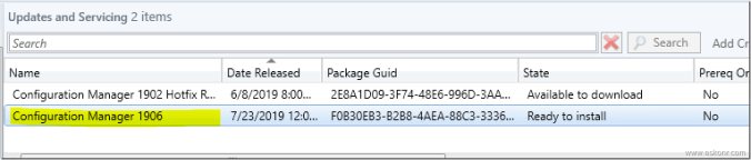 Sccm 1902 Issues