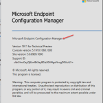 SCCM ConfigMgr technical preview version 1911 is available (in-console and baseline version) – Microsoft Endpoint Configuration Manager