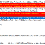 SCCM console connectivity issues with SQL Server 2019 – Connection may have been terminated by the server
