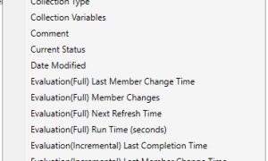 Collection Evaluation Viewer is now integrated with Configuration Manager