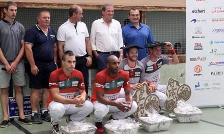 Tournoi de Larrau : Bielle-Ducassou renouent avec la victoire