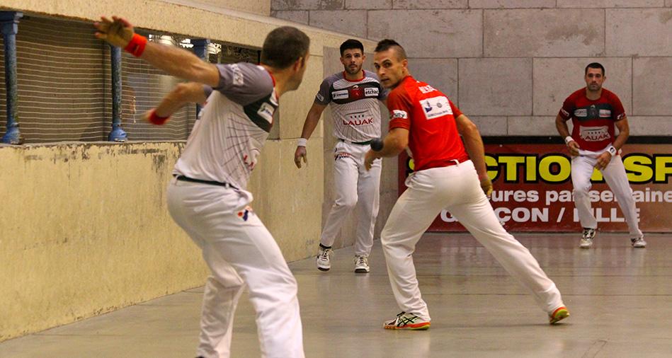 Tournoi de Saint-Palais : Etchegaray-Bilbao contre Monce-Ducassou