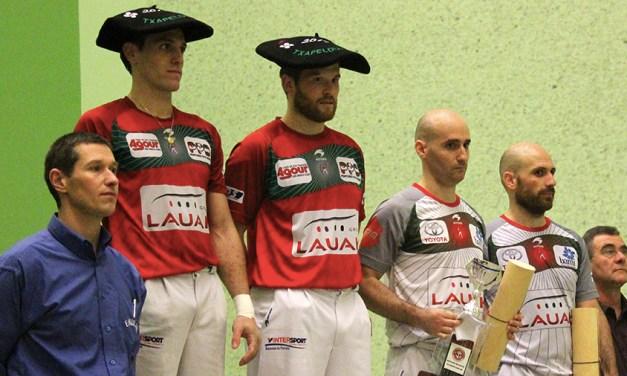 Les champions du monde à Villefranque