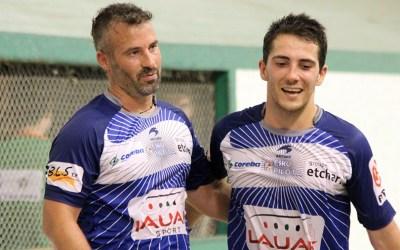 Alcasena-Bénesse et Maiz-Bereterbide en finale à Amotz
