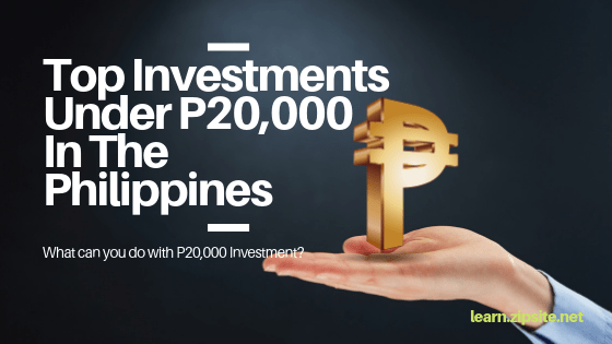 Top Investments For Just ₱20,000 In The Philippines