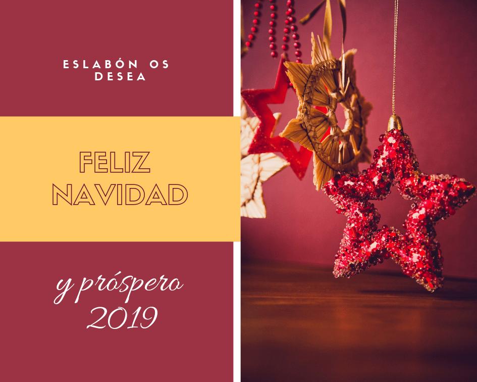 Felicitación Navidad Eslabón 2018_2019