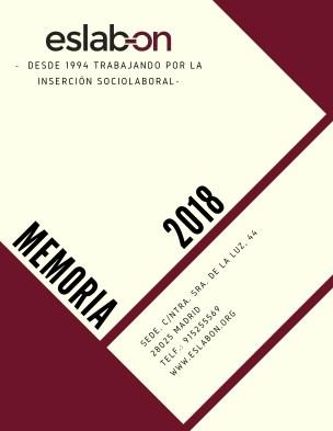 Memoria Eslabón 2018