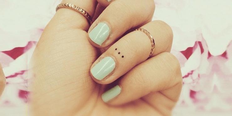 40 Mini Diseños Para Perderle El Miedo A Los Tatuajes
