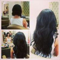 wedding hair extensions before and after cosas que jam 225 ...