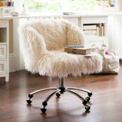 White Fluffy Desk Chair Cover Rentals Victoria Bc Maneras Sencillas De Cambiarle El Look A Tu Silla Escritorio