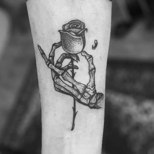 Tatuajes De Rosas Latest With Tatuajes De Rosas Beautiful Y Si