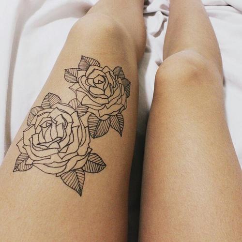 15 Tatuajes De Rosas Delicadamente Hermosos