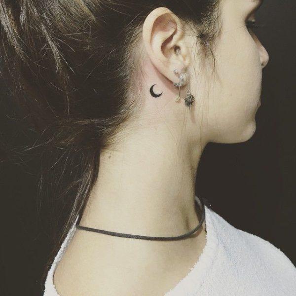 25 Bellísimos Tatuajes De Luna Que Te Van A Encantar