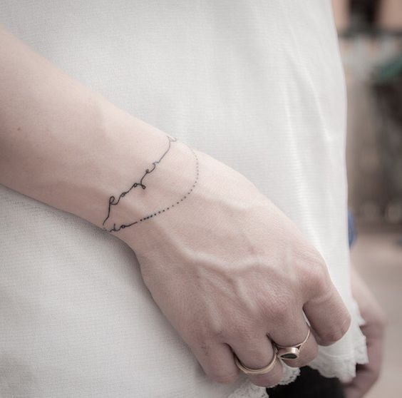 Tatuajes Brazaletes Mujer Flores