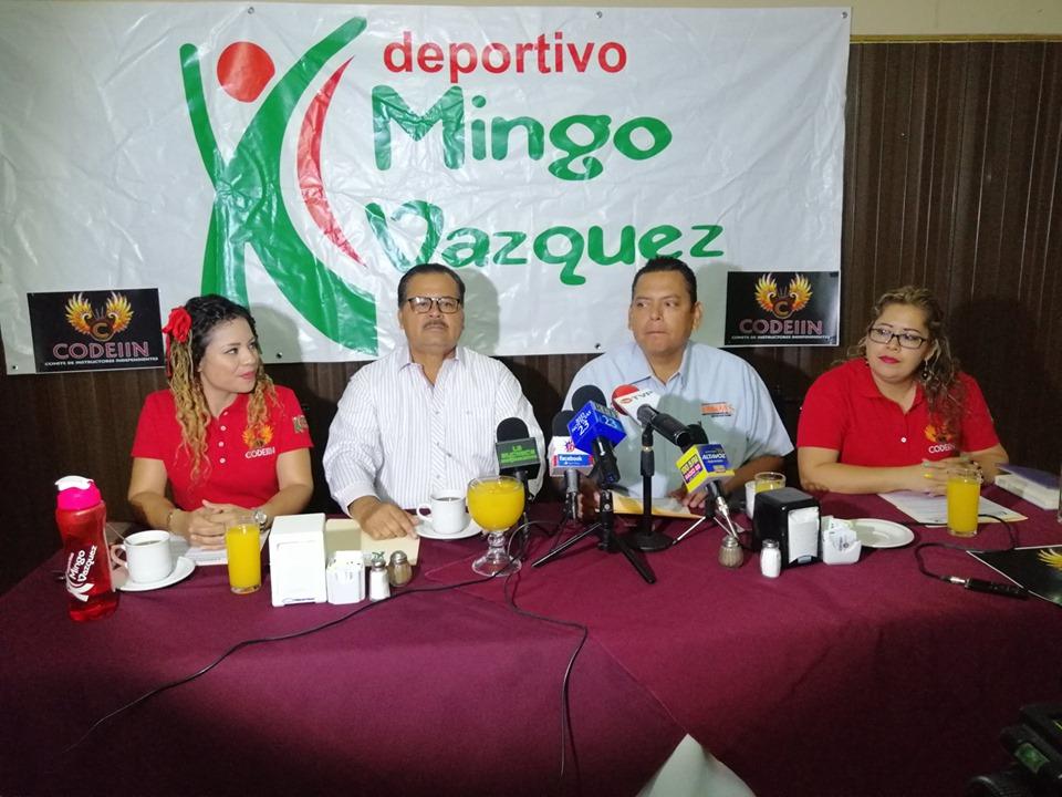 Presentan Concurso de Baile Deportivo Mingo Vázquez 2019