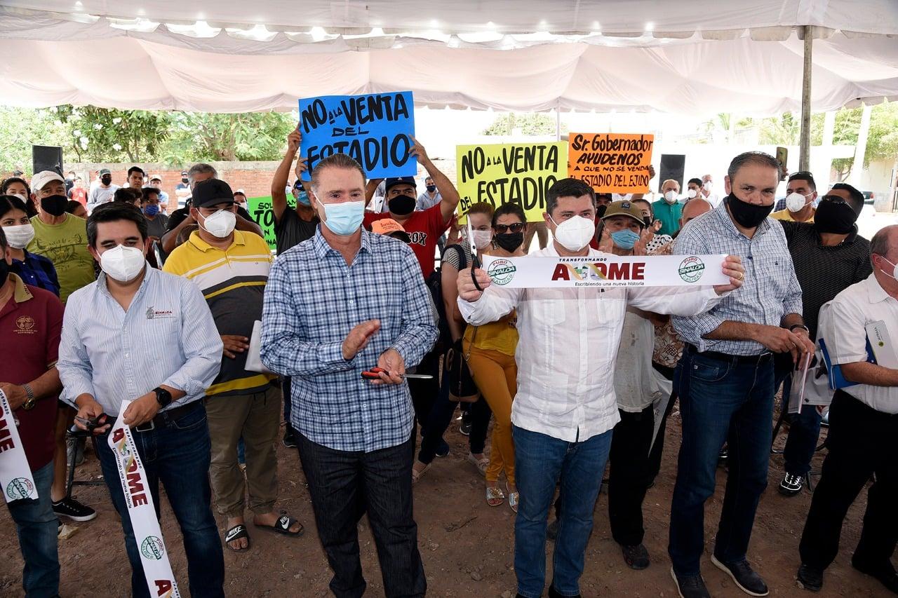 Gobierno del Estado de Sinaloa y Ayuntamiento de Ahome inauguran colectores de drenaje sanitario