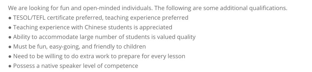becoming an online teacher requirements
