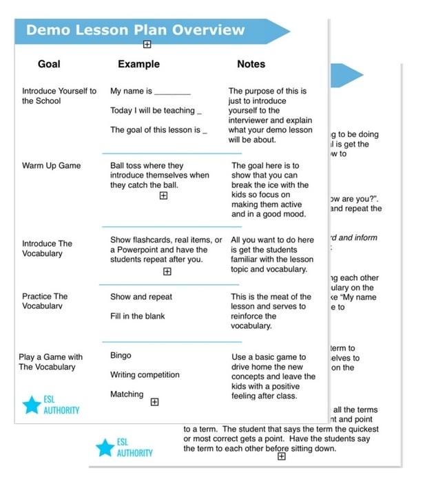 Online Demo Class Template
