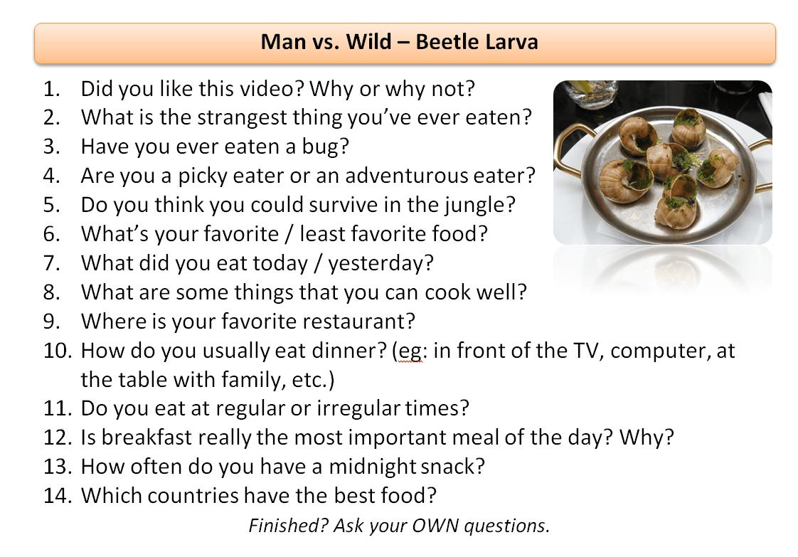 14 Man Vs Wild Beetle Larva Esldocs