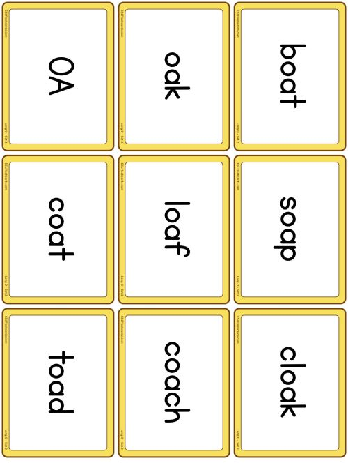 small resolution of Long Vowel Sounds – ESL Flashcards
