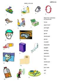 English Worksheets Equipment In The Science Lab Part ...