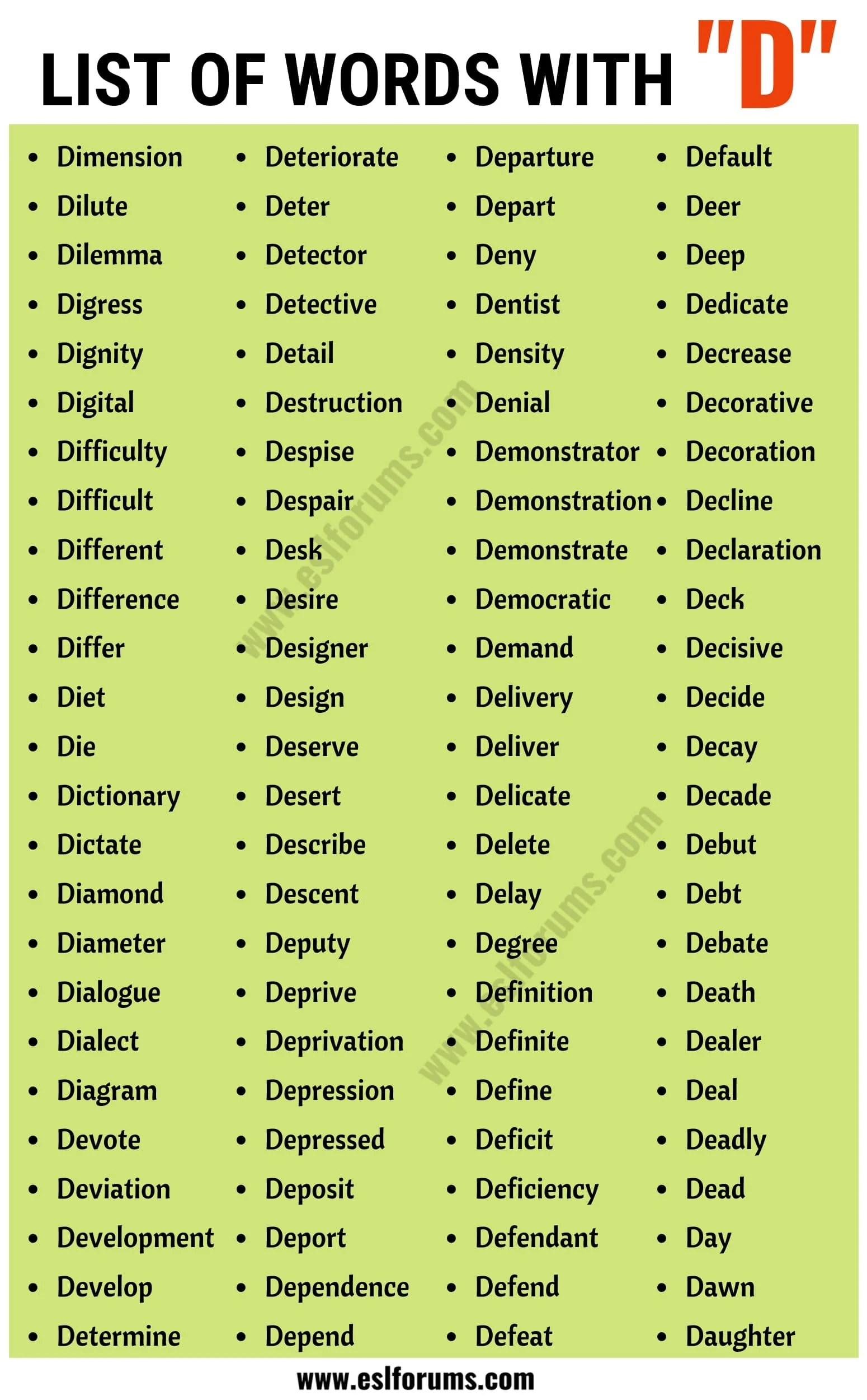 Funny Words That Start With The Letter D : funny, words, start, letter, Words, Start, Common, Starting, Forums