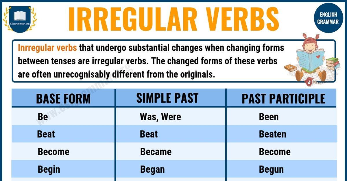 Verbs - ESL Grammar