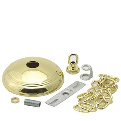 Polished Brass Chandelier Canopy Kit