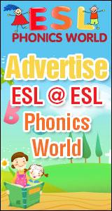 Esl Phonics World  Phonics Worksheets  Games  Flashcards  Crafts  Songs