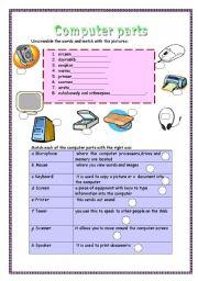 Computer Parts Labeling Worksheet : computer, parts, labeling, worksheet, Technologies, Worksheets