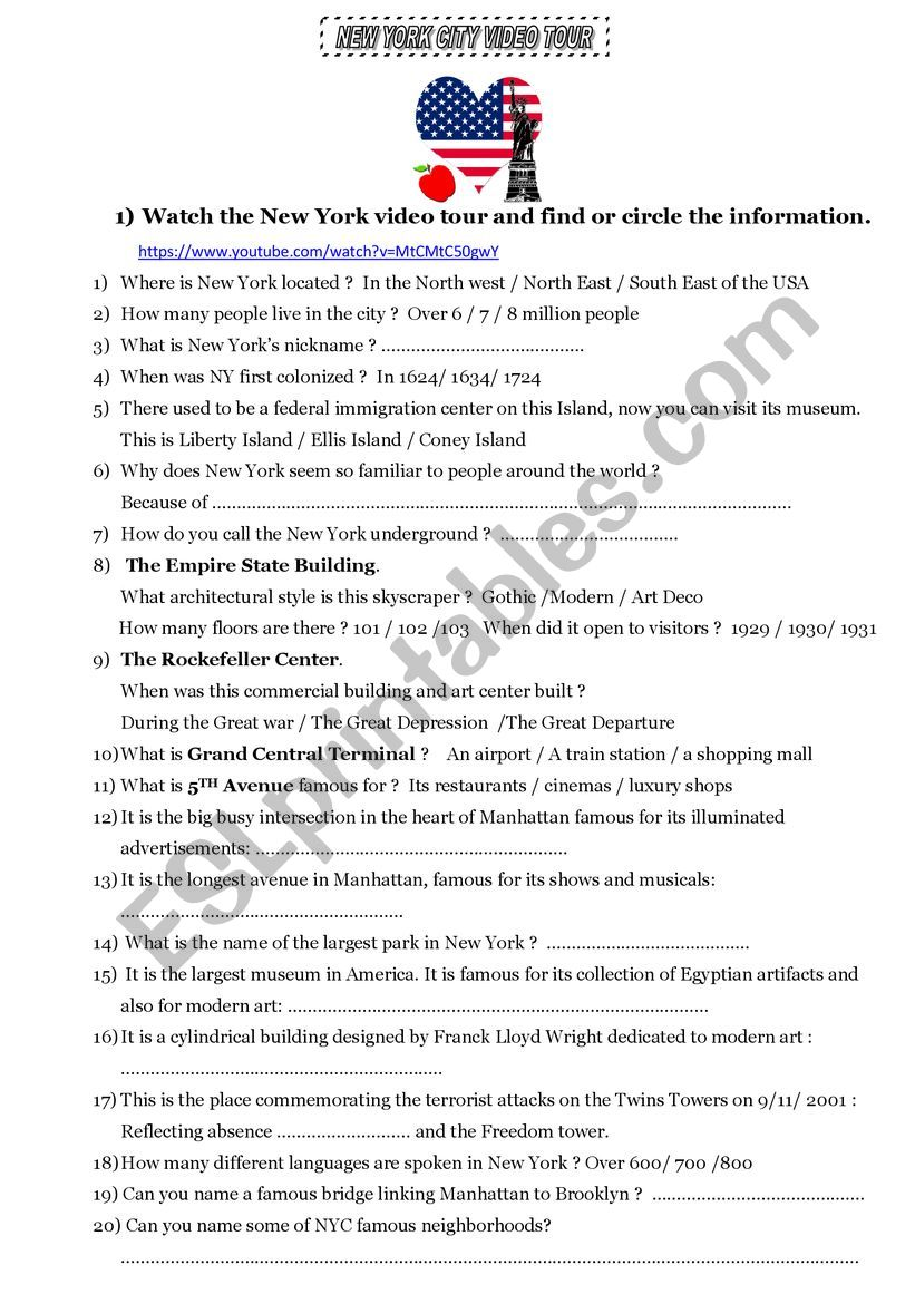 How Many Languages Are Spoken In Nyc : languages, spoken, Video, Worksheet, Française