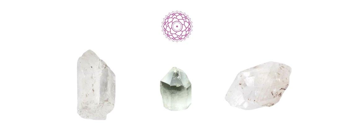 Piedras Chakra corona