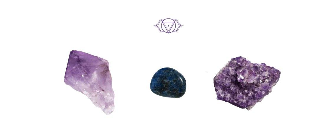 Piedras chakra Tercer ojo